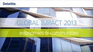 Collaborating to Strengthen Humanitarian Leadership    Deloitte Global Impact 2013