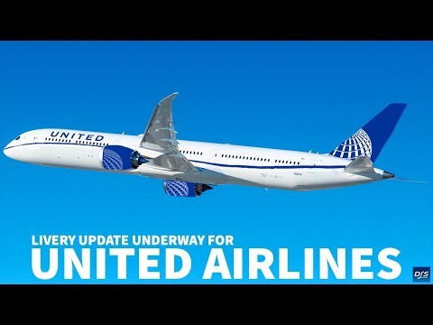 United Airlines to Get Updated Livery