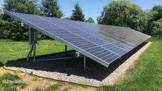 Review of a Ground Mount 28KW Solar Array.
