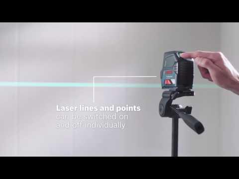 Видео обзор: BOSCH GCL 2-15G + RM1 + кейс