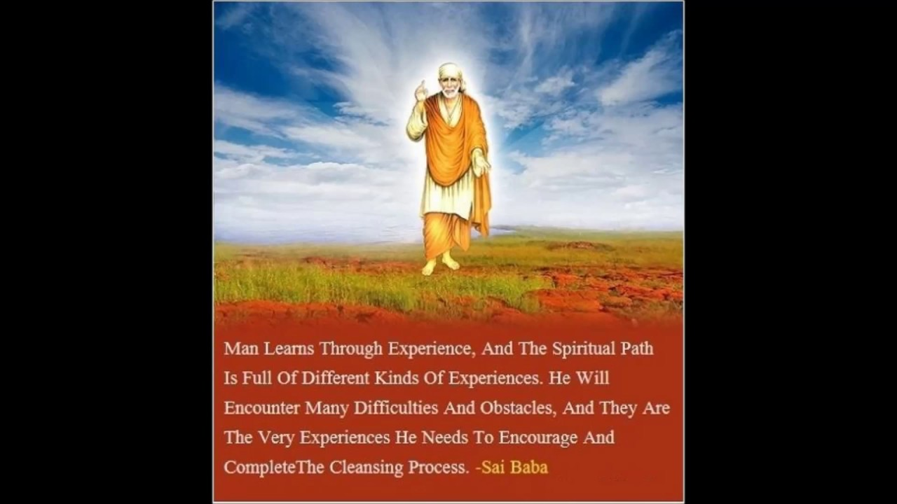 Shirdi Sai Baba Quotes Video With Images And Wallpapers