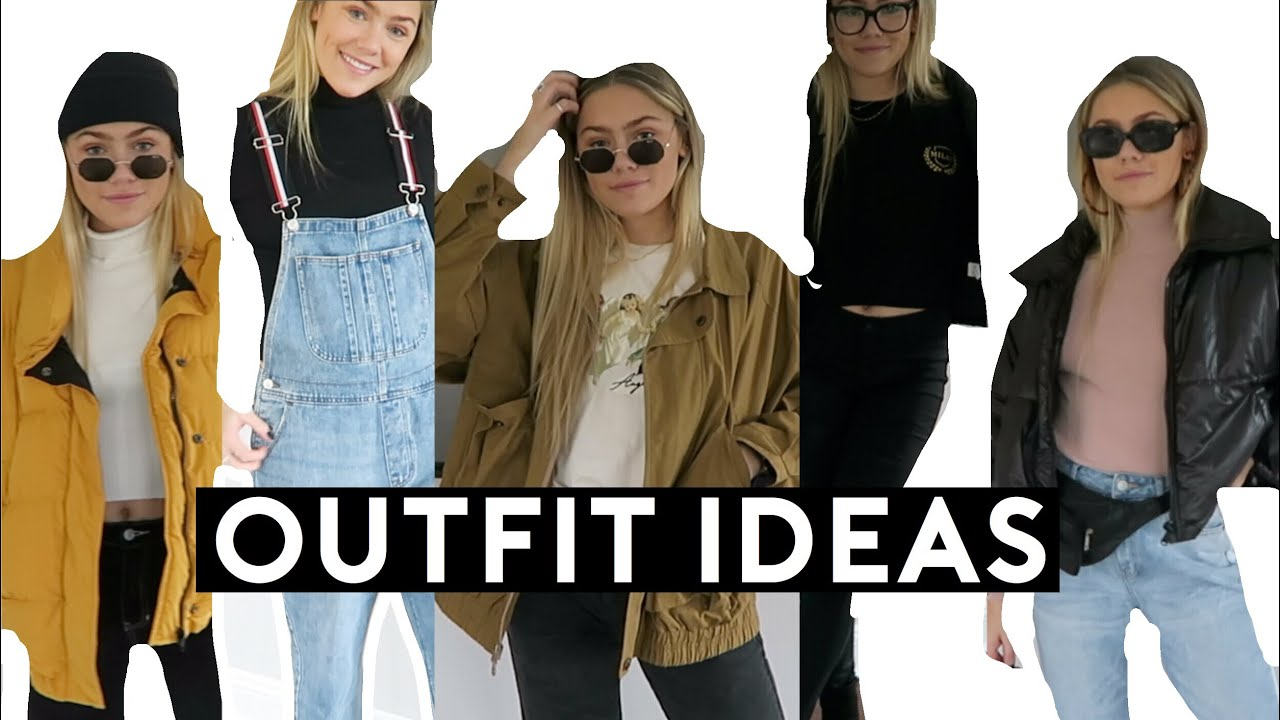 060ad8dbc374 Cute & Trendy Fall to Winter Outfit Ideas! | Margot Lee - YouTube