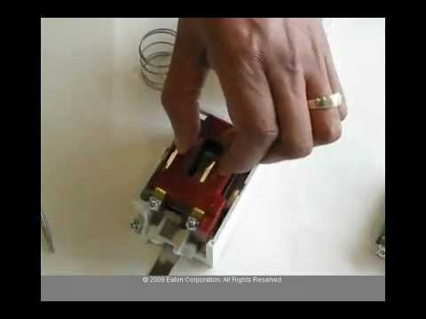 Eaton Cutler-Hammer Freedom Series Contactor/Starter Coil Change on