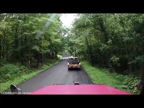 Heavyhaul On Old WV-46 Keyser WV