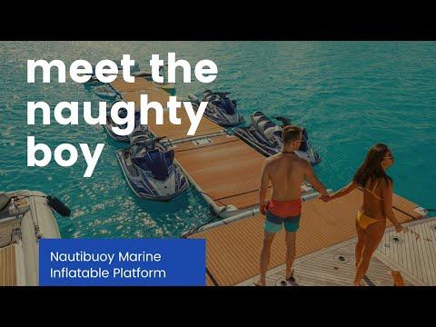ALGARVE | NAUTIBUOY marine INFLATABLE platform | AMAZING pre