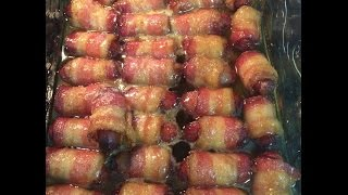 Was It Easy? Bacon Wrapped Little Smokies