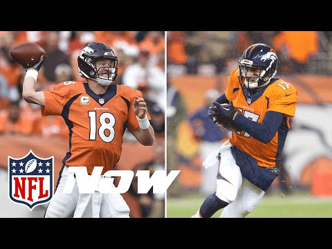 Who Should Start for Broncos: Peyton Manning or Brock Osweiler? | NFL NOW Debate