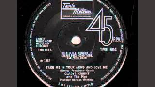 "Gladys Knight and The Pips ""Take Me In Your Arms And Love Me"""