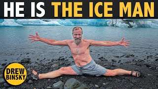 HE IS THE ICE MAN (Wim Hof)