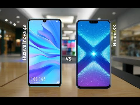 Huawei nova 4e Vs Honor 8X Specs& Price Comparison - 2019