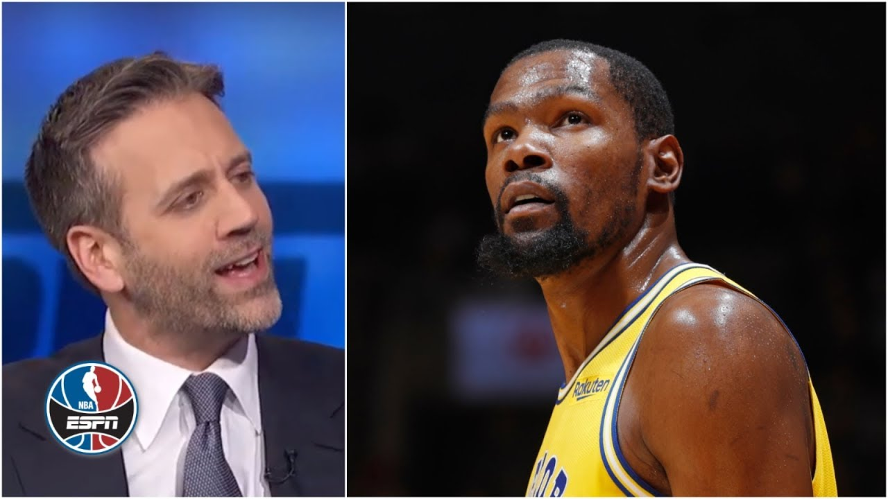 Stats show Kevin Durant is not a top-five player, Max Kellerman says | NBA Countdown