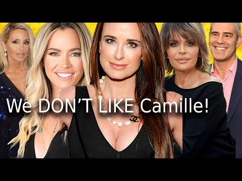 Teddi RESPONDS to starvation Backlash! Kyle trashes Camille RHOBH + Lisa Rinna on chopping block!
