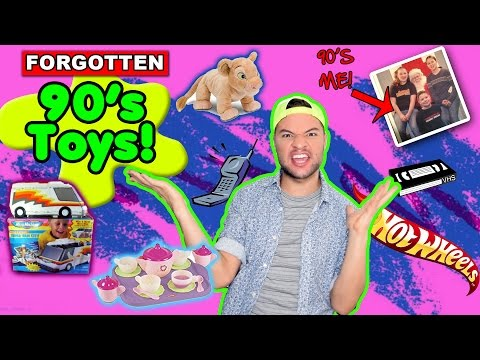 90's Toys You Forgot You Played With! - Toy Commercial Commentary