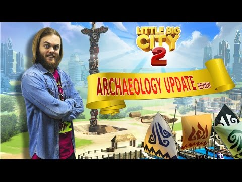 Little Big City 2 – Archaeology Update Video Overview