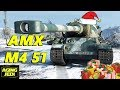 Day 12: The New French AMX M4 51 Heavy - World of Tanks