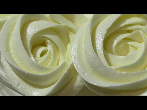Белково масляный крем. Рецепт. protein oil cream.