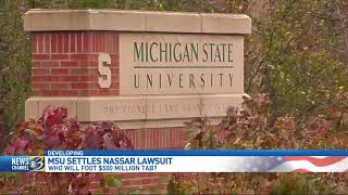Sen. O'Brien discusses the Michigan State University settlement