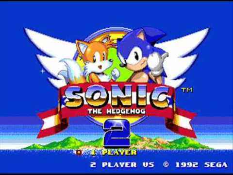 Sonic The Hedgehog 2 Music - Option Screen