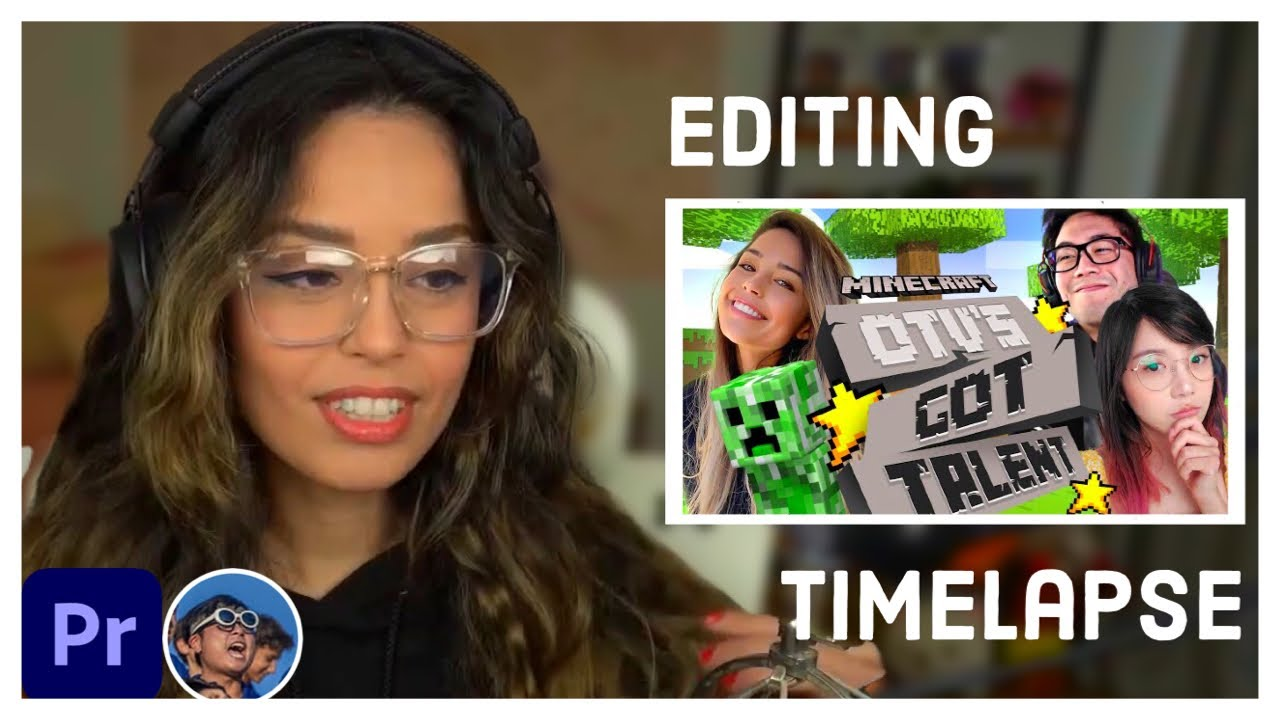 OFFLINETV MINECRAFT TALENT SHOW | Adobe Premiere Pro Editing Timelapse #2