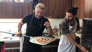 pizza de gusanos el ranty y max cabezon masterchef