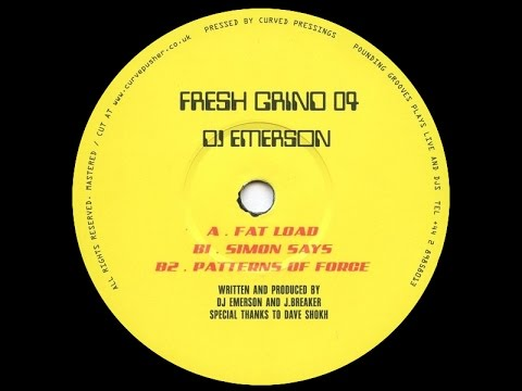 DJ Emerson - Patterns Of Force
