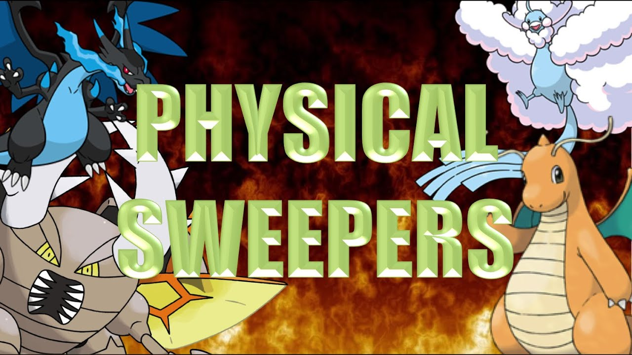 Physical Sweepers Teambuilding University Pokemon Showdown Youtube