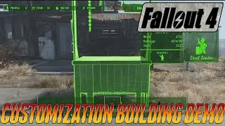 Fallout 4 - Building & Customization - Official Gameplay Demo #4 E3 2015