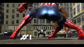 Spider Man Web Of Shadows (Xbox360) - Part 1 - The Black Suit! (1080p)