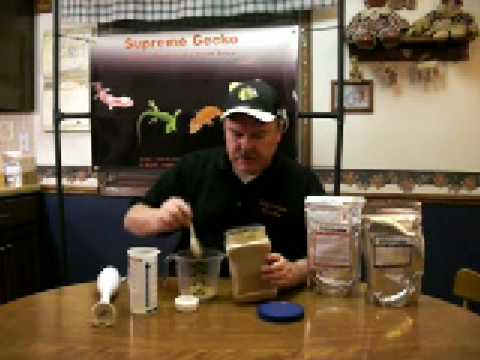 How To Prepare Crested Gecko..