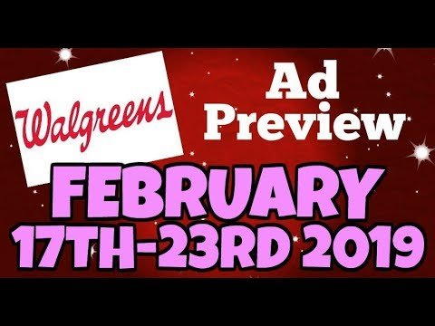 Walgreens Ad Preview Chit Chat February 17th-23rd 2019
