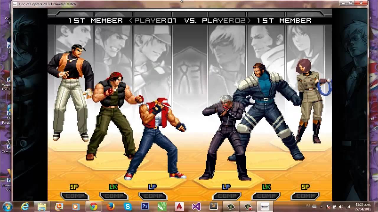 Descargar Kof 98 Ultimate Match 2002 Unlimited Match Y Kof Xiii