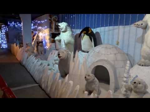 Santa's Grotto Train Ride At Springtime Nurseries, Crews Hill