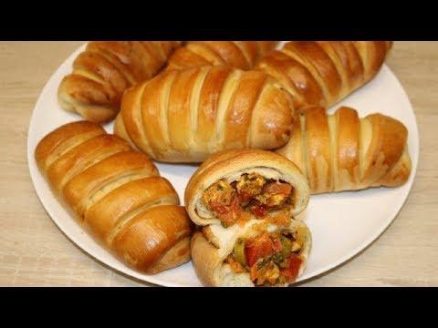 petites-brioches-farcie-au-poulet-facile-(cuisine-rapide)