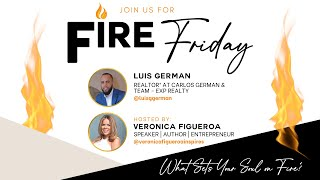 Fire Friday with Luis German