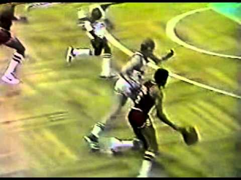 Julius Erving Two Poster Dunks Over McHale And Bird (1982 ECF Game 1)
