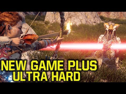 Horizon Zero Dawn New Game Plus Gameplay ON ULTRA HARD & Your Questions Answered