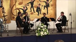 Dizzy Fingers Clarinet quartet Claritet