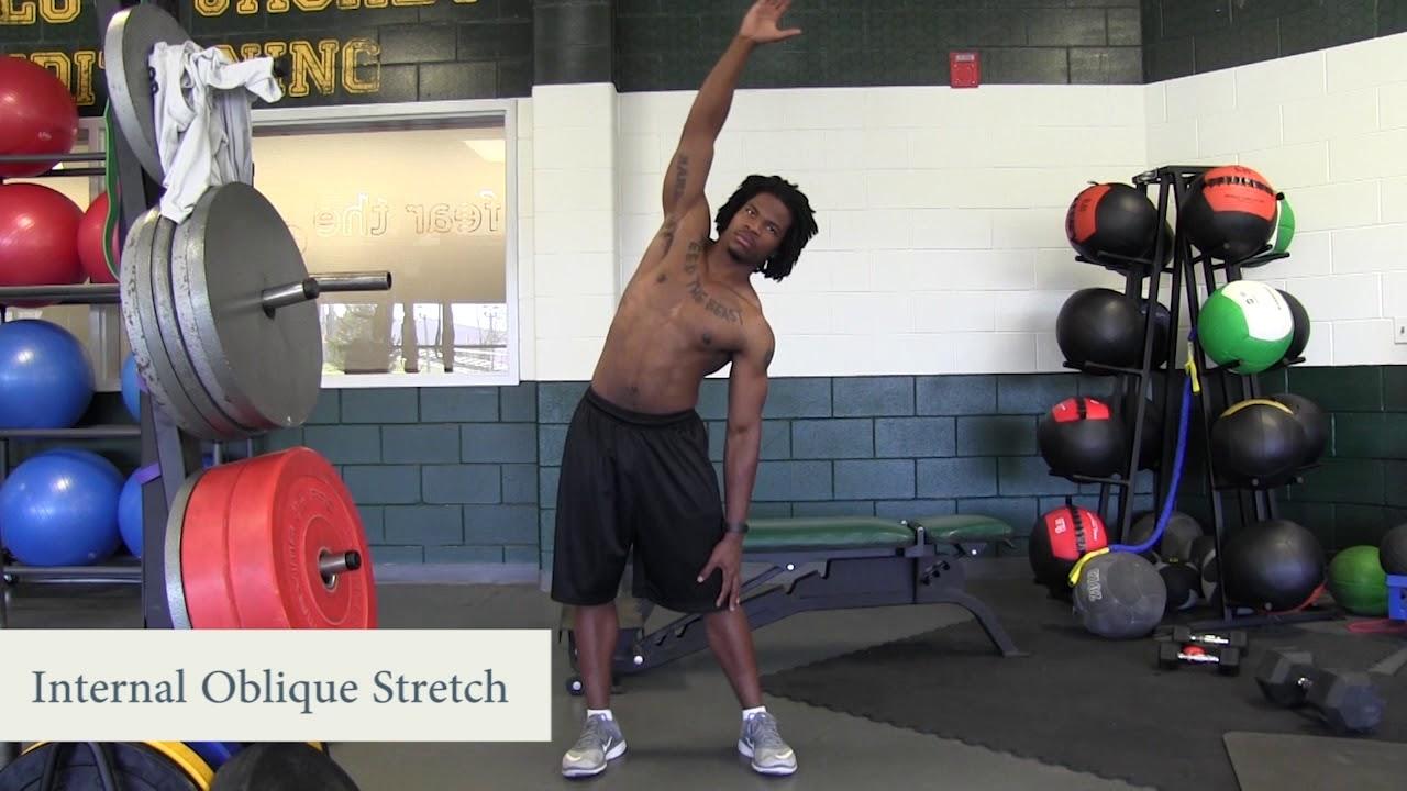 Internal Oblique Stretch - YouTube Internal Oblique Stretching
