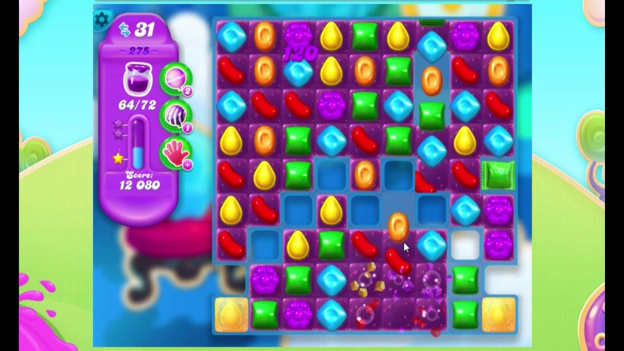 Candy Crush Soda Saga LEVEL 275 (3 STAR)