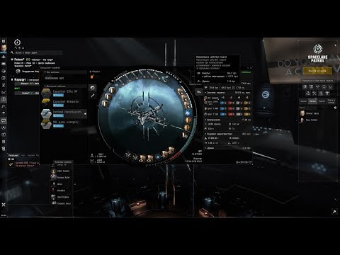 Eve Online - На что способен Full Рапидный Praxis в руках трёхдневного альфы?