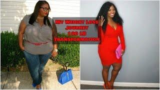 My Weight Loss Journey | 100lbs Down | PocketsandBows