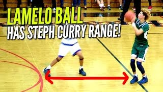 LaMelo Ball & His Steph Curry Range Average 30 PPG at The Battlezone!