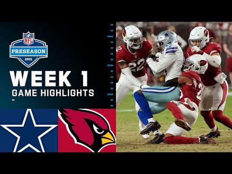 Download Dallas Cowboys vs. Arizona Cardinals | Preseason Week 1 2021 NFL Game Highlights