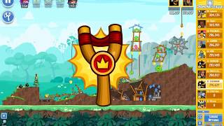 Angry Birds Friends tournament, week 302/2, level 1