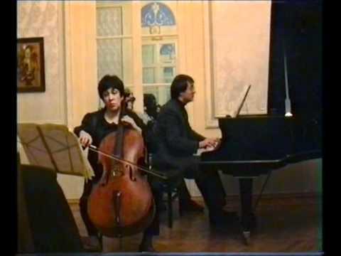 Saint-Saens Cello Sonata no.2 Natalia Gutman & Alexander Rudin