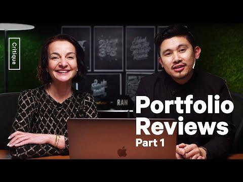 Portfolio Tips – Reviewing YOUR Design Work – Part 1