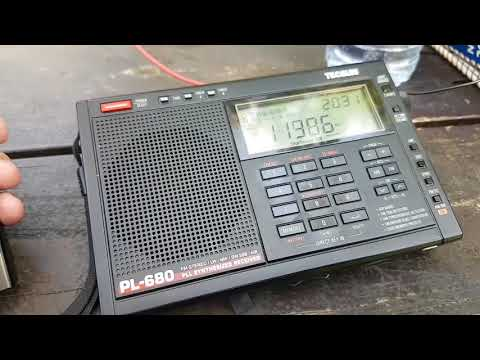 NHK Radio Japan via Madagascar in french 11985 Khz Shortwave