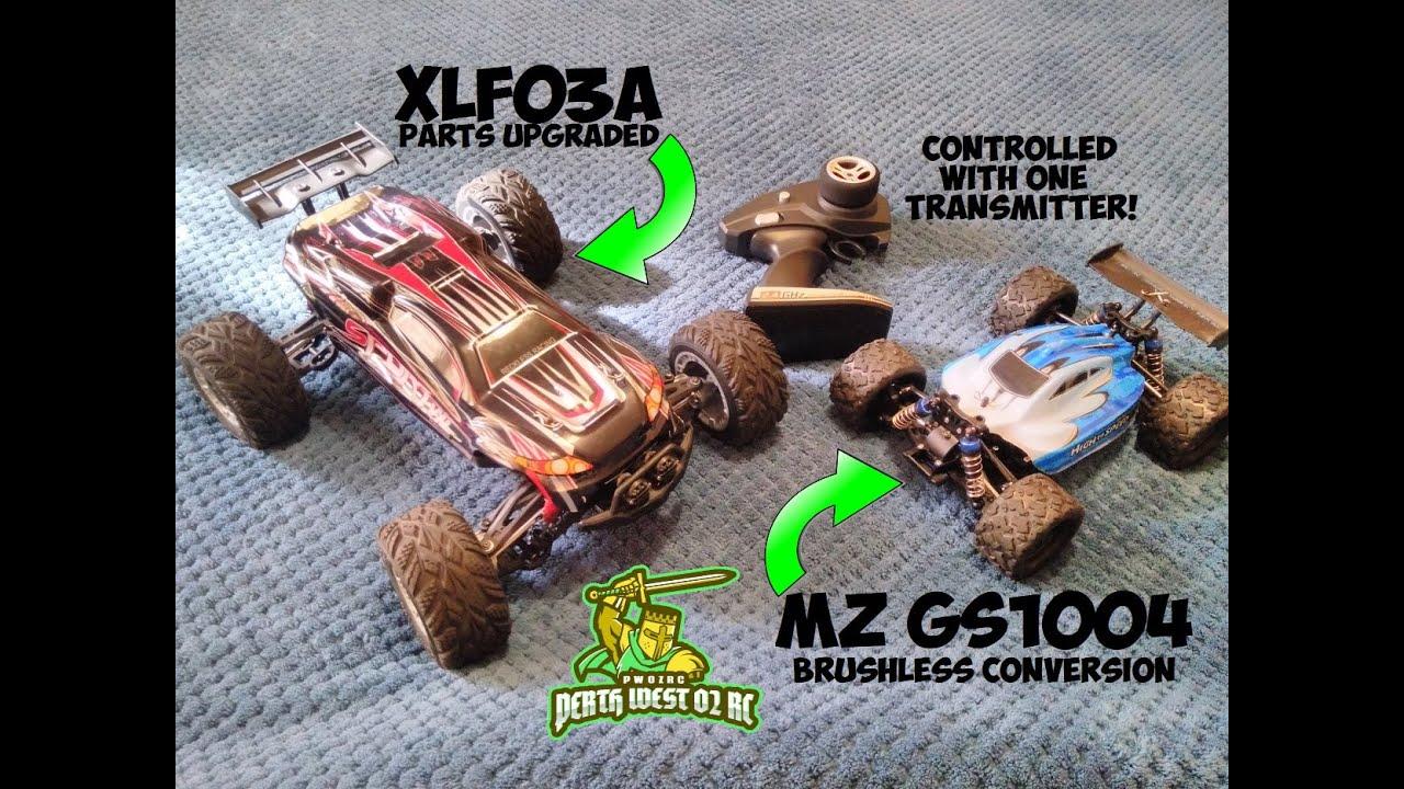 XLF03A Truck & MZ GS1004 Buggy Upgrades