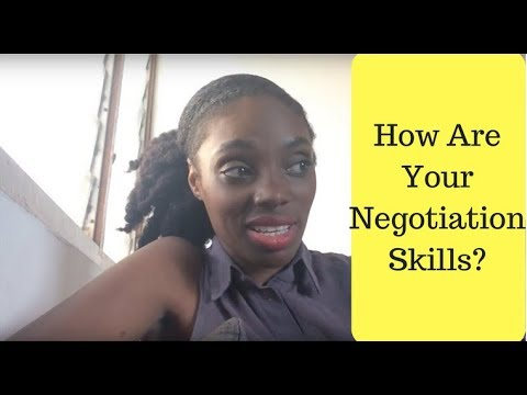 How Are Your Negotiation Skills?