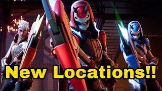 Fortnite SEASON 9 Nouveaux emplacements et skins!!! Shoutouts gratuits!!!
